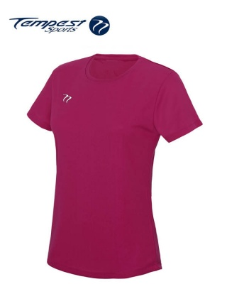 Tempest Women's Pink Training T-shirt